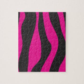 Puzzle Cebra rosada