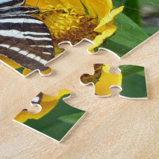 Puzzle Cebra Swallowtail+Escarabajo japonés