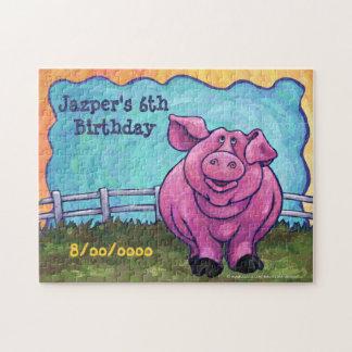 Puzzle Centro del fiesta del cerdo