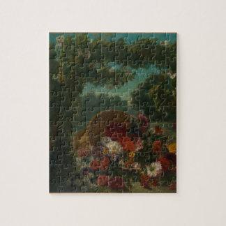 Puzzle Cesta de flores