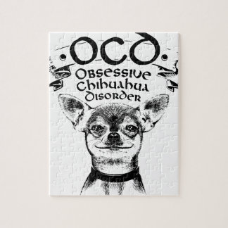 Puzzle Chihuahua obsesiva de OCD