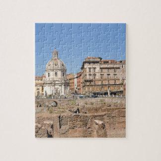 Puzzle Ciudad antigua de Roma, Italia