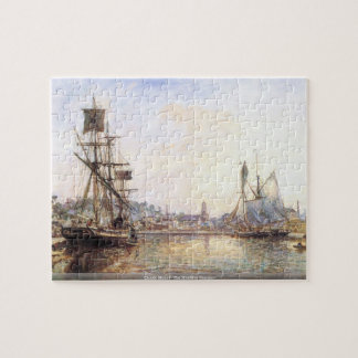 Puzzle Claude Monet - el puerto marítimo de Honfleur