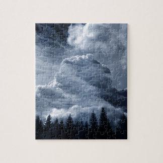 Puzzle Clouds Temple