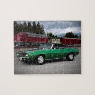 Puzzle Coche clásico convertible 1969 de Chevy Camaro