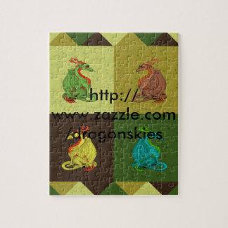 Puzzle Colección dulce del dragón