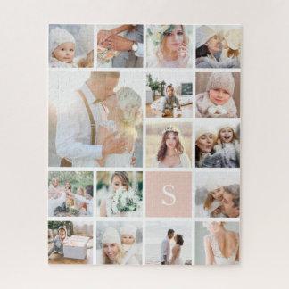 Puzzle Collage y monograma de la foto