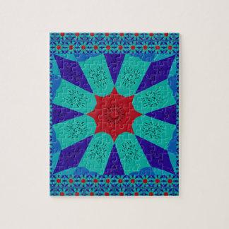 Puzzle Color femenino egipcio asombroso hermoso del