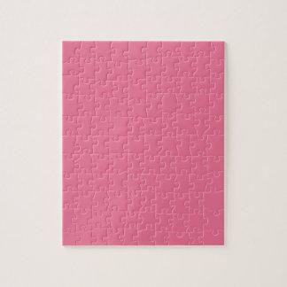 Puzzle Color rosado