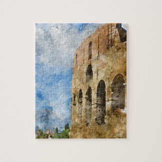 Puzzle Colosseum antiguo en Roma Italia