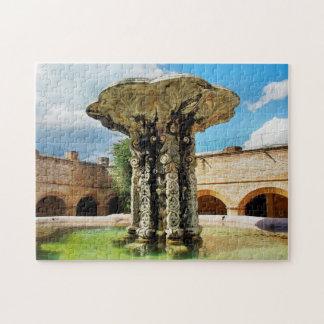 Puzzle Convento Notre-Dame-Merc. de la fuente de Antigua