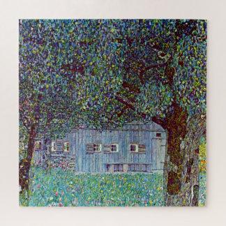 Puzzle Cortijo en Austria por Klimt, bella arte del