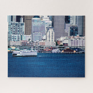 Puzzle Costa de Seattle - grande