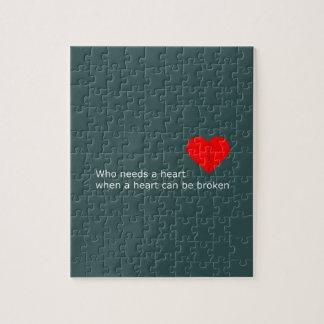 Puzzle Cuál es el amor consiguió hacer con él