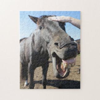 Puzzle Derecho de la boca del caballo