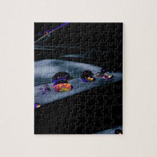 Puzzle Descensos coloridos del agua
