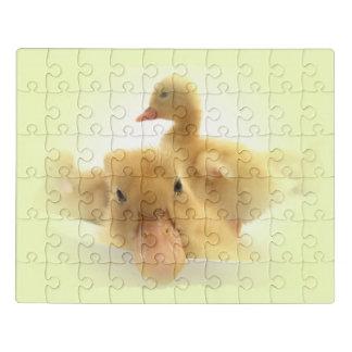 Puzzle desconcierte con, los animales, vida feliz en