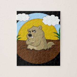 Puzzle Día de la marmota