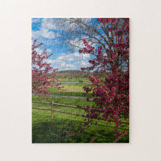 Puzzle Día de primavera en Rivercut