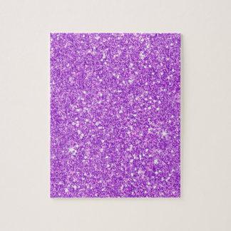 Puzzle Diamante de lujo brillante del brillo púrpura del