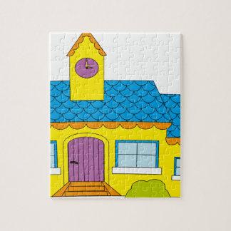 Puzzle Dibujo animado de la escuela