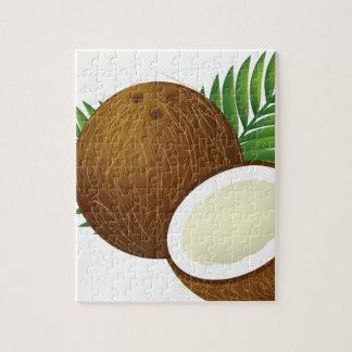 Puzzle Dibujo animado del coco