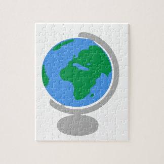 Puzzle Dibujo animado del globo