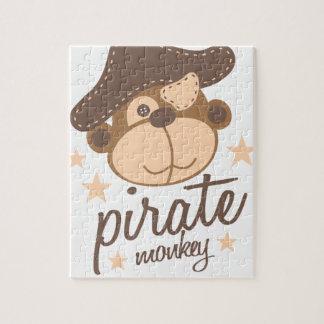 Puzzle Dibujo animado del pirata fresco
