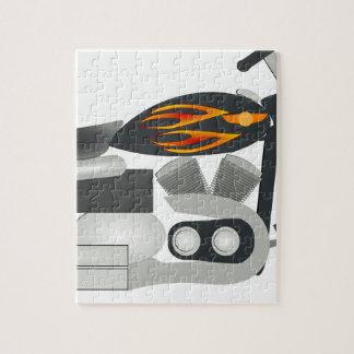 Puzzle Dibujo de la motocicleta