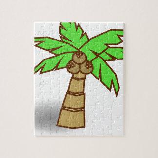 Puzzle Dibujo de la palmera