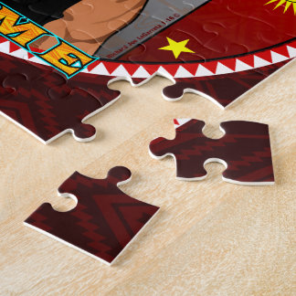 Puzzle Diseño del bailarín de los ciervos de Yaqui Yoeme
