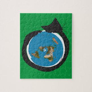 Puzzle Diseños planos de la tierra - OBRA CLÁSICA del