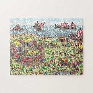 Puzzle Donde está Waldo el   en viaje con los Vikingos