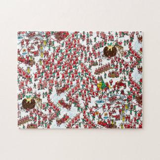 Puzzle Donde está Waldo el   que es Santa