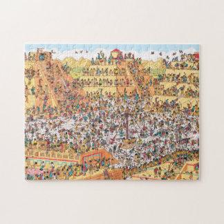 Puzzle Donde están los días del último de Waldo el   de