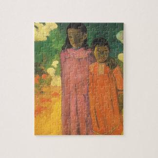 Puzzle Dos hermanas de Paul Gauguin, impresionismo del