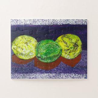 Puzzle Dos limones y una cal desconcierta