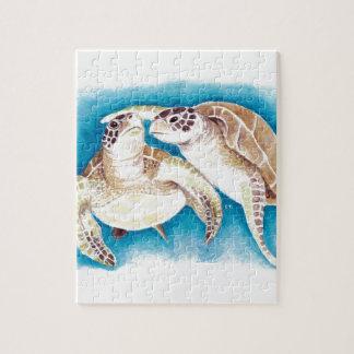 Puzzle Dos tortugas de mar