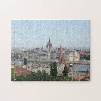 Puzzle Edificio del parlamento de Budapest