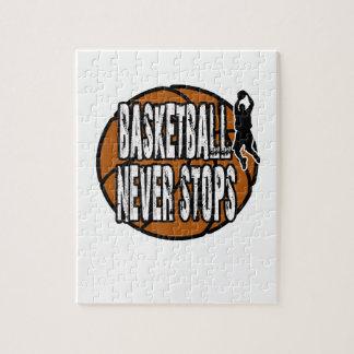 Puzzle El baloncesto nunca para