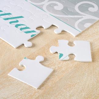 Puzzle El blanco remolina, foto del boda del novio de la