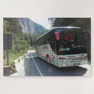 Puzzle El bus turístico