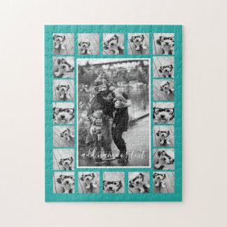 Puzzle El collage y el texto de 21 fotos - PUEDEN