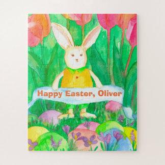 Puzzle El conejo Eggs a los niños conocidos de encargo
