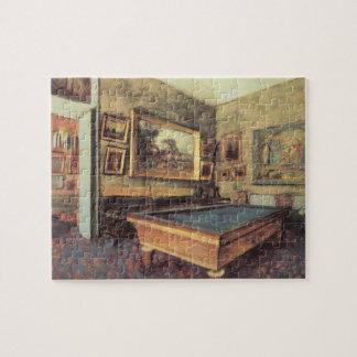 Puzzle El cuarto de billar en Menil Huberto de Edgar