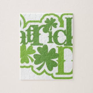 Puzzle El día de St Patrick, diseño del irlandés de San