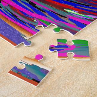 Puzzle El espacio en blanco de la plantilla añade su