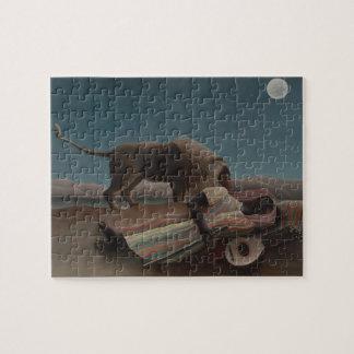 Puzzle El gitano durmiente de Henri Rousseau