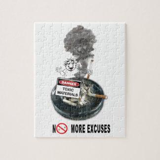 Puzzle El NINGÚN fumar de la parada de las EXCUSAS