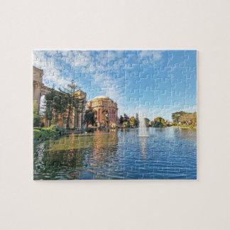 Puzzle El palacio de las bellas arte California